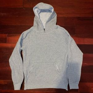 Zara men's hoodie with zipper sides and pockets